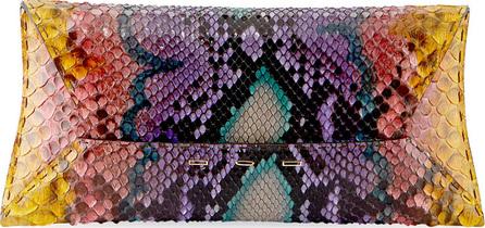 VBH Manila Stretch T Colorful Python Clutch Bag