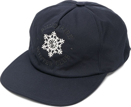 Billionaire Snow flake embroidered cap