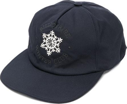 Billionaire Snow flake embroidered cap