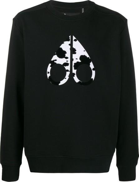 Moose Knuckles Logo crew-neck  sweatshirt