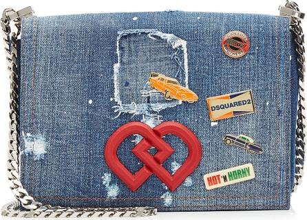 DSQUARED2 Denim Shoulder Bag