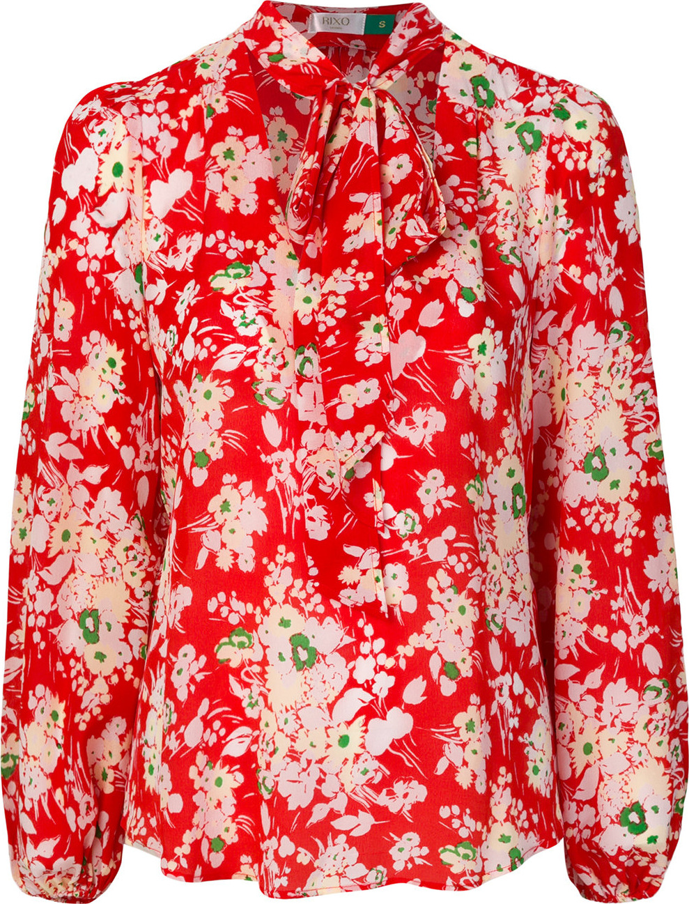 RIXO LONDON - Moss bunch floral blouse