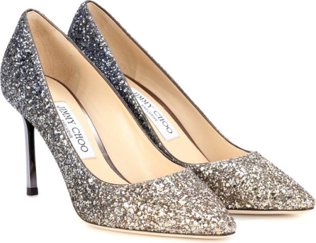 Jimmy Choo Exclusive to mytheresa – Romy 85 glitter pumps