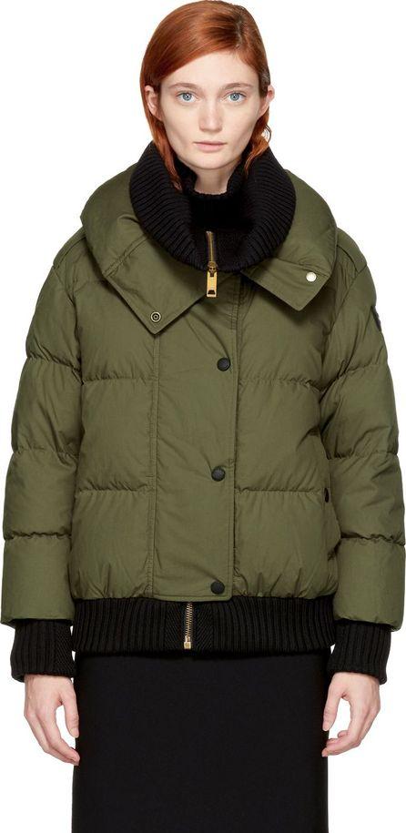 Burberry London England Green Down Shackleton Jacket