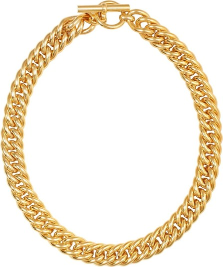Tilly Sveaas Large Curb 18kt gold-plated chain necklace