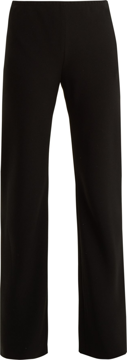 THE ROW Gill stretch-cady straight-leg trousers