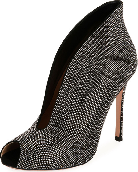 Gianvito Rossi Embellished Suede 105mm Bootie