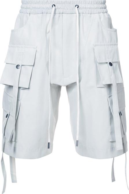 D.Gnak Multi pocket shorts