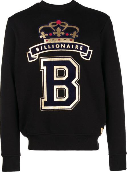 Billionaire Foiled logo sweatshirt