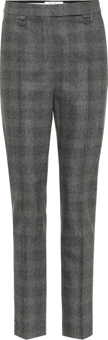 Max Mara Zagara wool and cashmere pants
