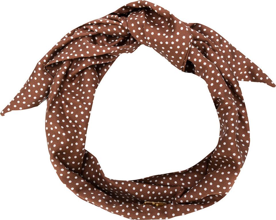 Cult Gaia - Polka dot head scarf