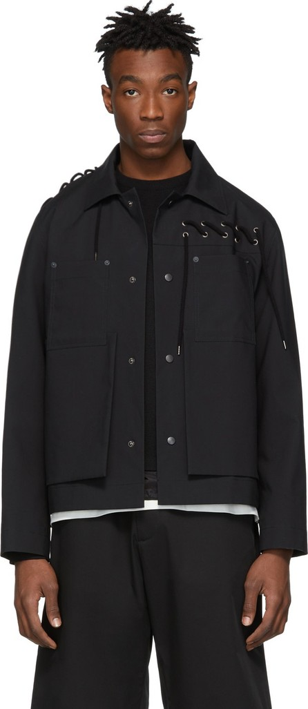 Craig Green Black Laced Worker Jacket