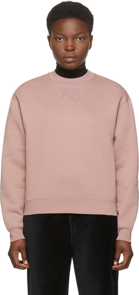 Alexanderwang.T Pink Foundation Terry Sweatshirt
