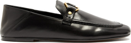 Isabel Marant Ferlyn collapsible-heel leather loafers