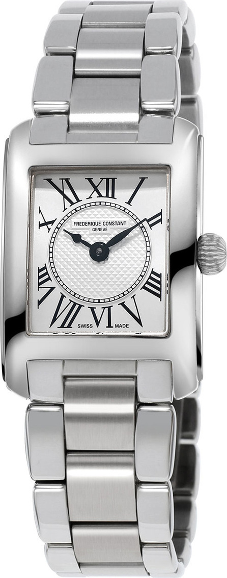Frederique Constant Classics Carree Stainless Steel Watch