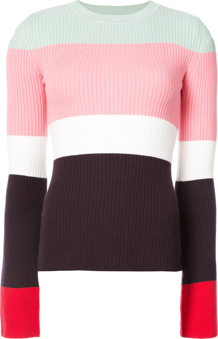 Joos Tricot Striped bell sleeve sweater