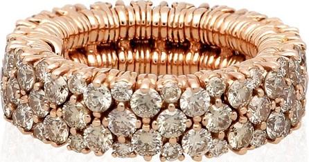 Roberto Demeglio CASHMERE 18k Rose Gold Diamond Stretch Ring