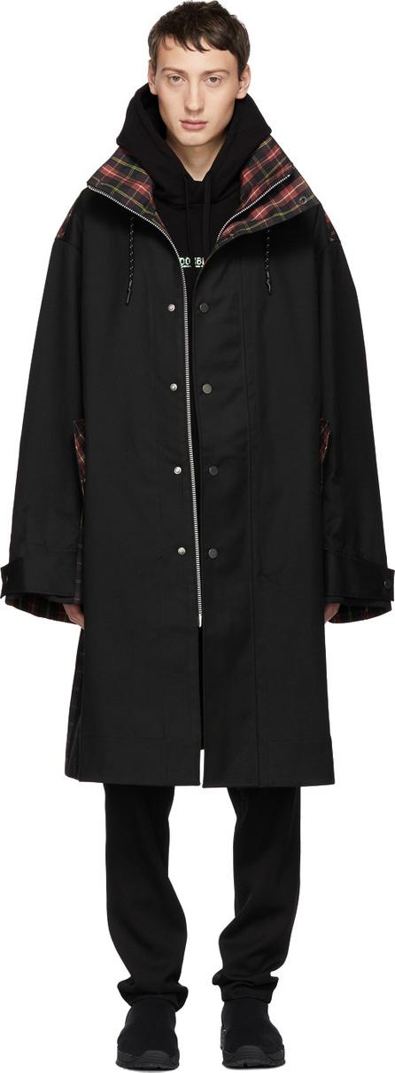 Cmmn Swdn Black Ivan Oversized Car Coat