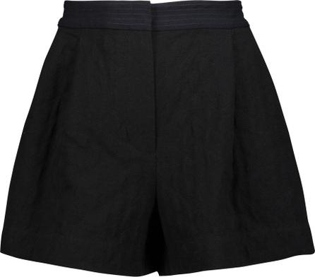 3.1 Phillip Lim Cotton-blend canvas mini shorts