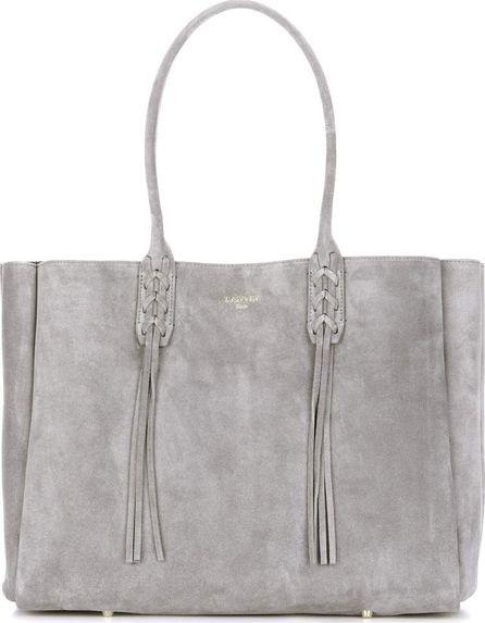 Lanvin Suede shopper bag