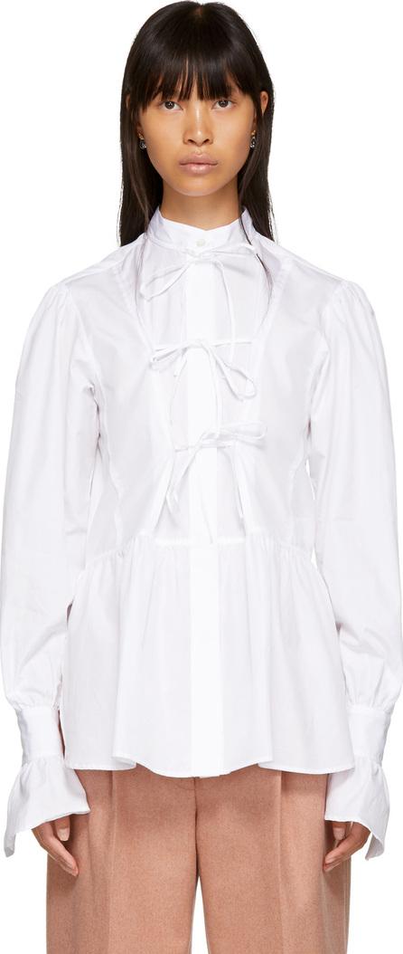 Alexachung White Front Tie Shirt