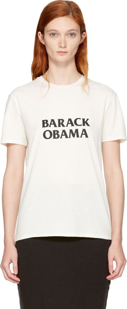 6397 White 'Barack Obama' T-Shirt