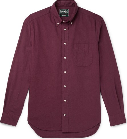 Gitman Vintage Button-Down Collar Brushed Cotton-Flannel Shirt