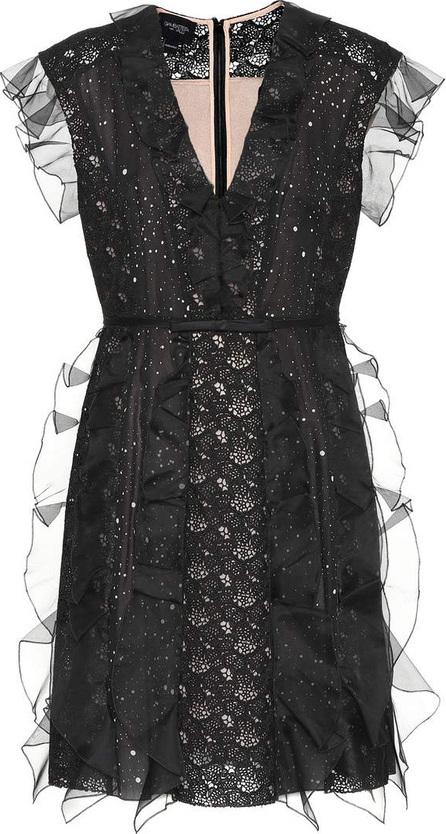 Giambattista Valli Silk and lace minidress