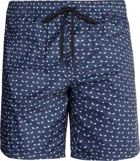 Fendi Micro Bag Bugs-print swim shorts