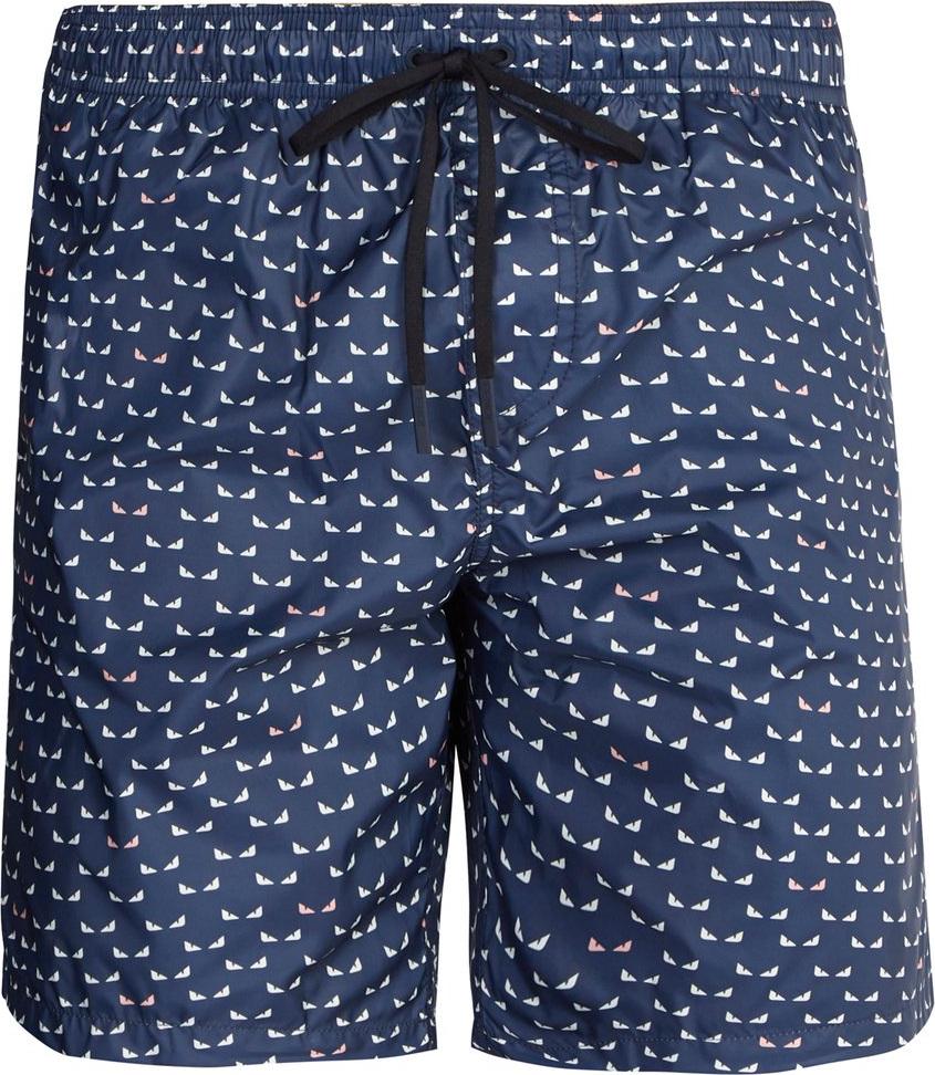 9c29816945 Fendi Micro Bag Bugs-print swim shorts - Mkt