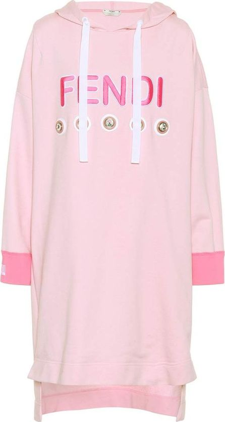 Fendi Exclusive to mytheresa.com – embellished sweatshirt dress