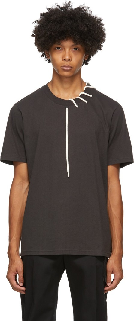 Craig Green Black Laced T-Shirt