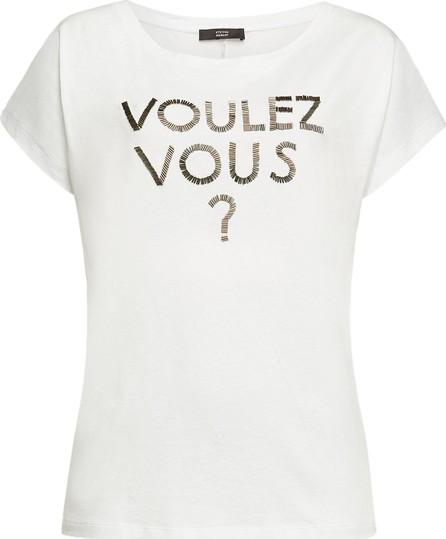 Steffen Schraut Voulez Vous Embellished Cotton T-Shirt
