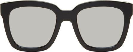 Gentle Monster Black & Silver Large Dreamer Hoff Sunglasses