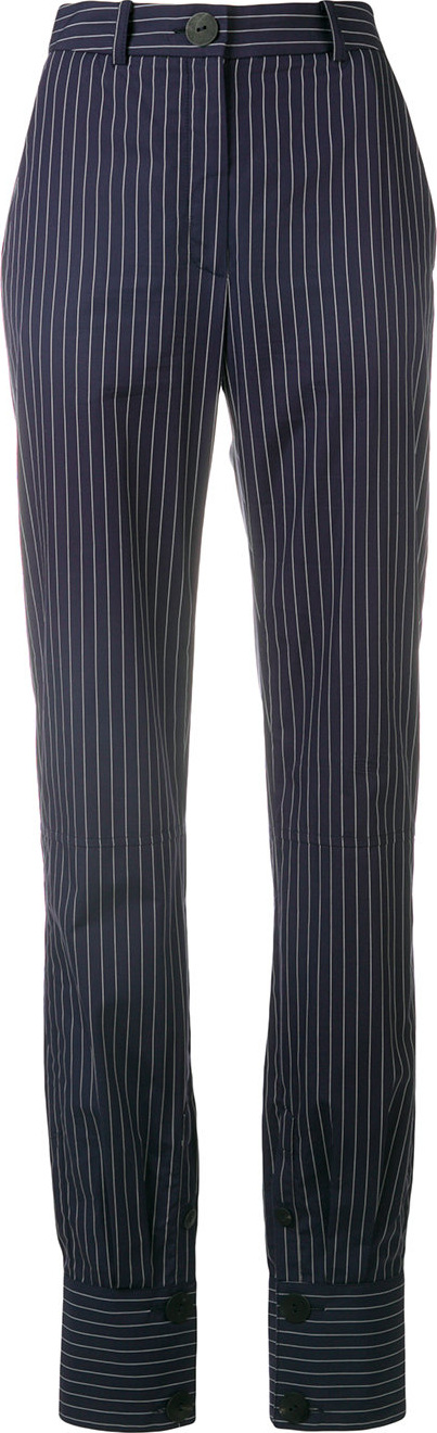 J.W.Anderson - Classic pinstriped trousers