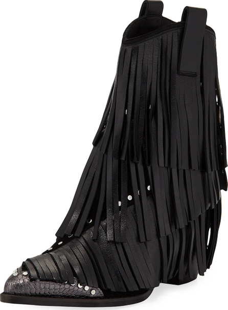Zadig & Voltaire Carla Plus Fringed Western Boots