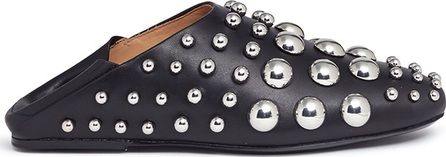 Alexander Wang 'Edie' convertible studs leather slippers