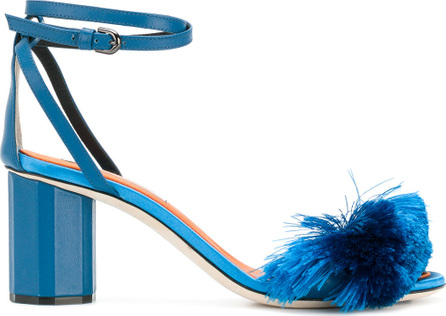 Marco De Vincenzo Fringed sandals