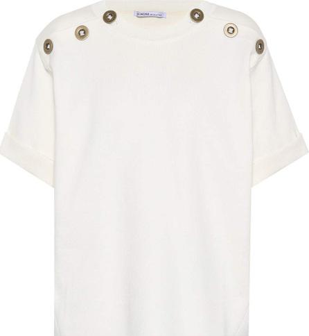 Agnona Cotton and cashmere top