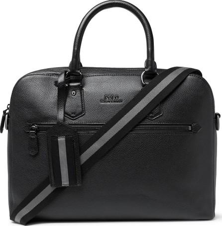 Polo Ralph Lauren Pebble-Grain Leather Briefcase