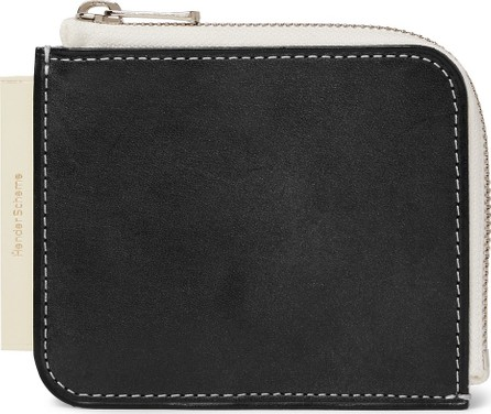 Hender Scheme Colour-Block Leather Zip-Around Wallet