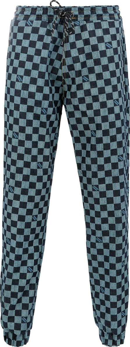 Andrea Crews Checkerboard track pants