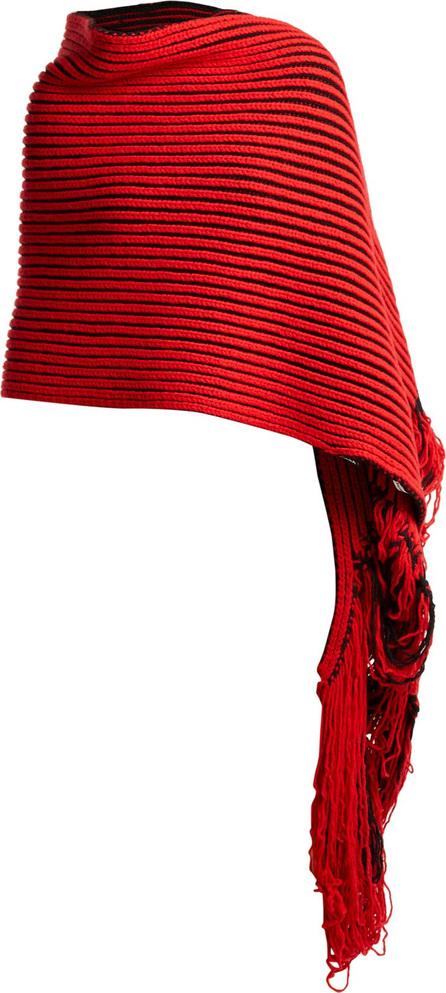 Balenciaga Virgin-wool knit scarf