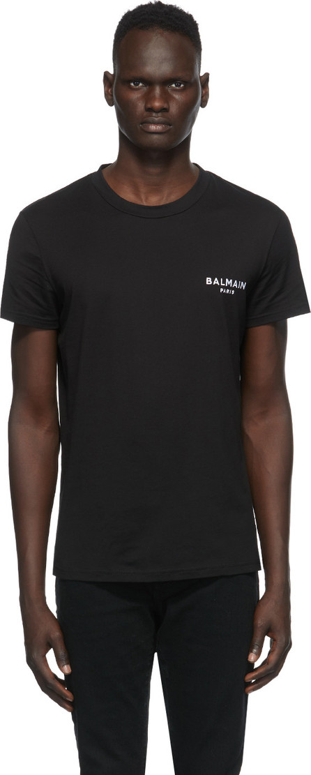 Balmain Black Round Neck T-Shirt