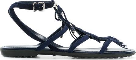 Tod'S Fringe trim sandals