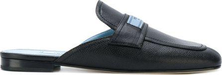 Prada Logo patch slippers