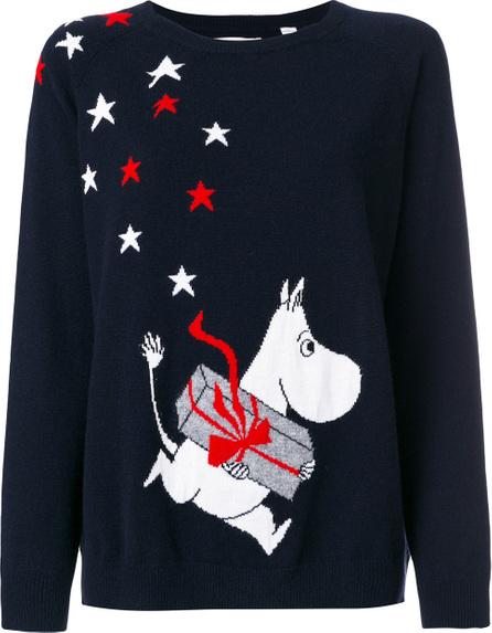 Chinti And Parker Moomin holiday jumper