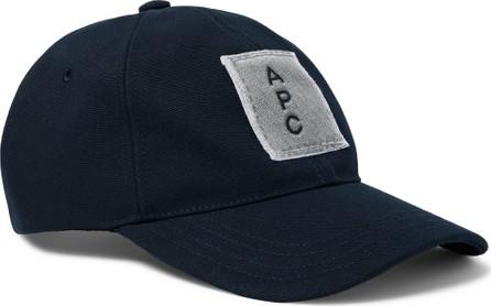 A.P.C. Logo-Appliquéd Cotton-Twill Baseball Cap