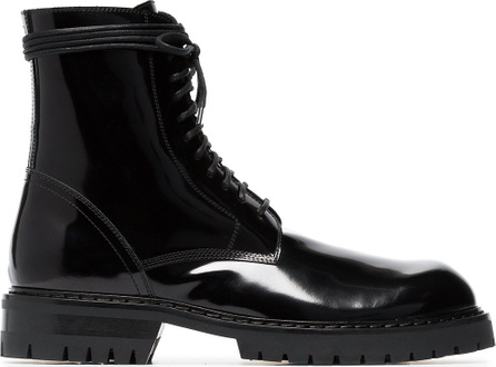 Ann Demeulemeester Chunky lace-up boots