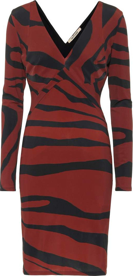 Roberto Cavalli Striped jersey dress
